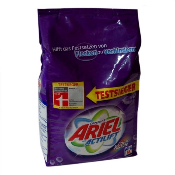 Genialny Ariel niemiecki proszek do prania koloru 1,350 g /18 prań ZX93