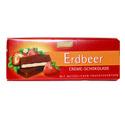 Creme-Schokolade Erdbeer 100 g Czekolada z nadzieniem truskawkowym